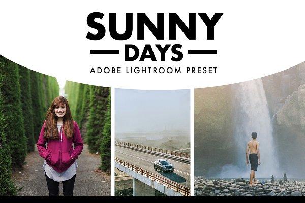Download Sunny Days Lightroom Preset