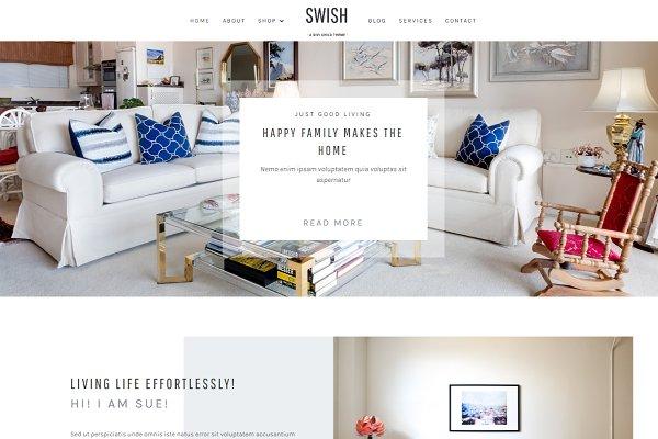 Download Swish Divi Child Wordpress Theme