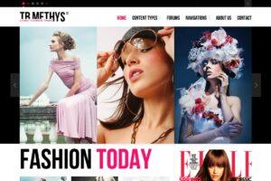 Download Fashion Drupal Theme TB Methys II