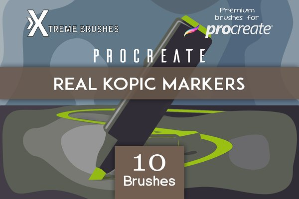 Download Procreate Real Kopic Markers