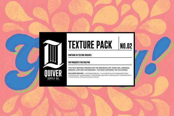 Download Procreate Texture Brush Pack 02