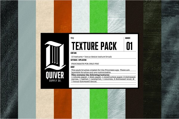 Download Procreate Texture Brush Pack 01
