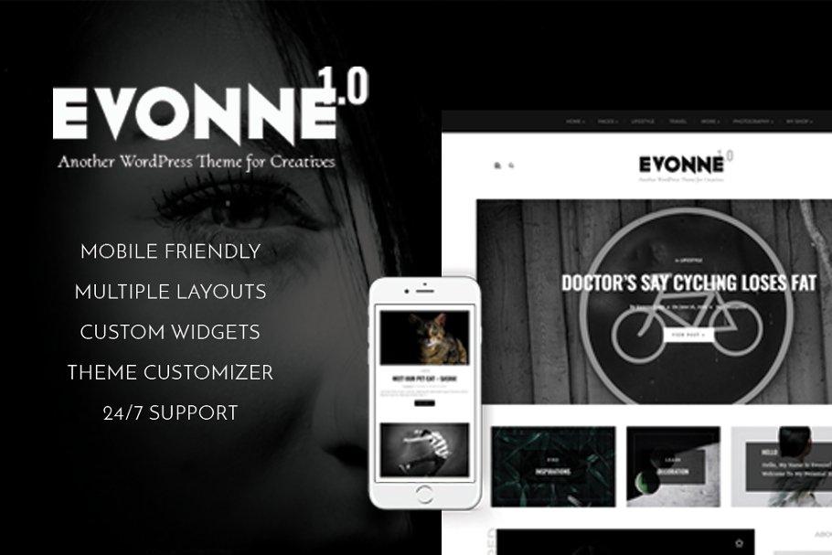 Download Evonne - A Black Magazine Theme