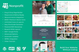 Download Nonprofit WordPress Theme