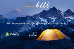 Download Hill Mount Travel Shopify Theme