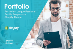 Download Portfolio Responsive Shopify Theme