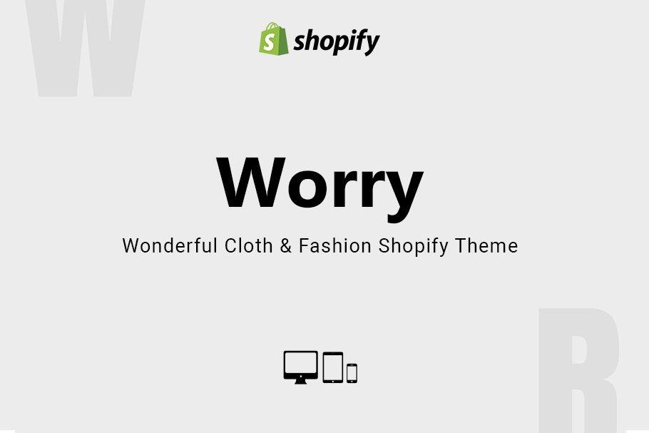 Download Worry Cloth & Fashion Shopify Theme