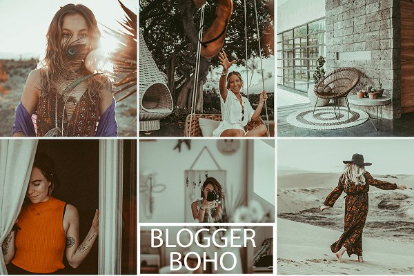 Download Boho Blogger Preset