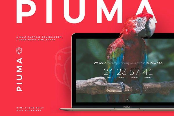 Download PIUMA - Multipurpose Countdown Theme