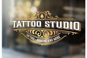 Download Tattoo logo template