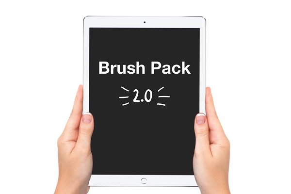 Download Procreate Lettering Brush Pack 2.0!