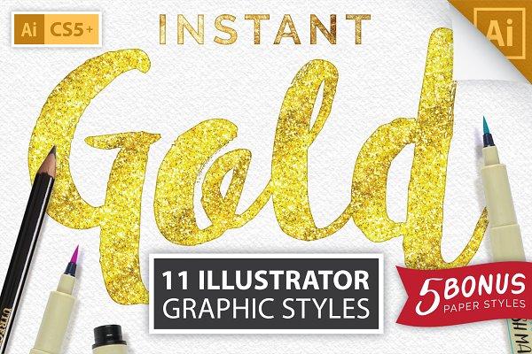 Download Instant Gold Foil Effect + More