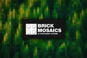 Download 40 Brick Mosaics Actions