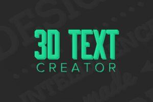 Download 3D Text Creator