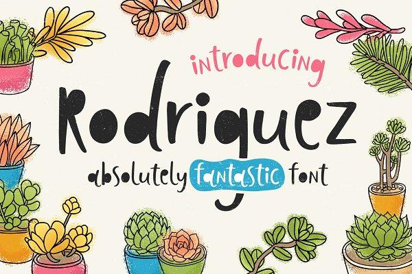 Download Rodriguez Font