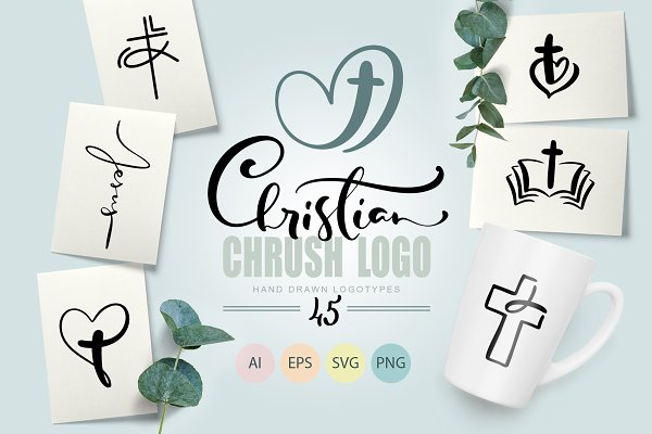 Download Christian Church Logo quotes SVG