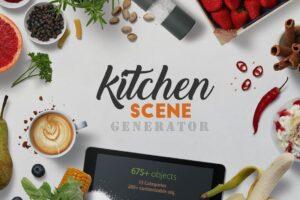 Download Kitchen Scene Generator