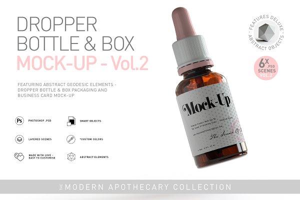 Download Dropper Bottle & Box Mock-Up   Vol.2