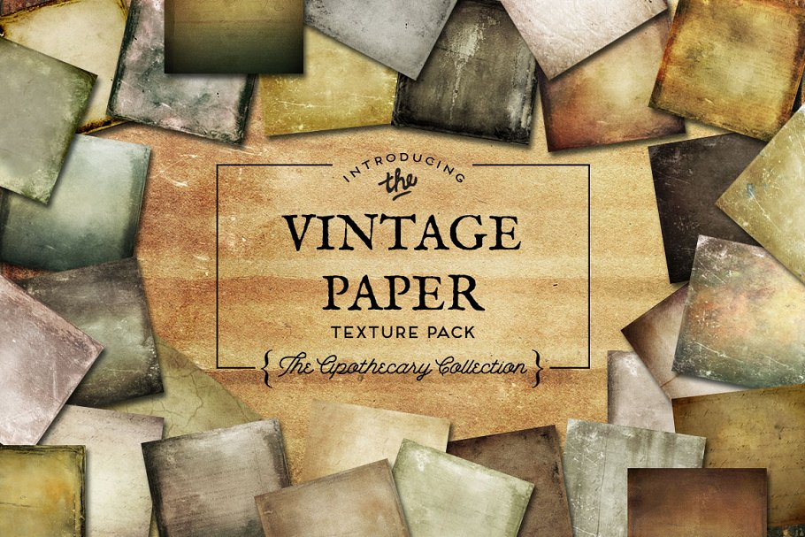 Download Vintage Paper Textures Apothecary