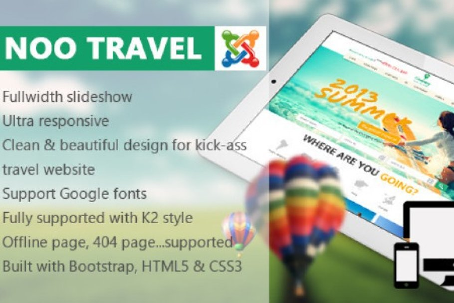 Download Travel - Responsive Travel Template