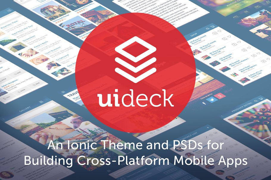 Download UI Deck for Ionic