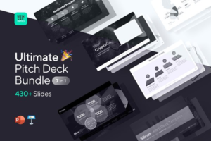 Download Ultimate Pitch Deck Bundle: All-in-1