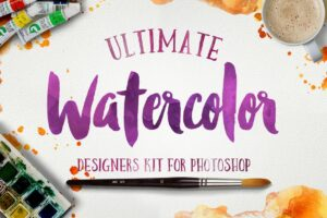 Download Watercolor KIT for Photoshop
