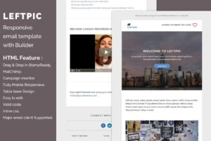 Download Leftpic - Responsive email template