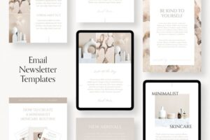 Download Email Newsletter Templates For Canva