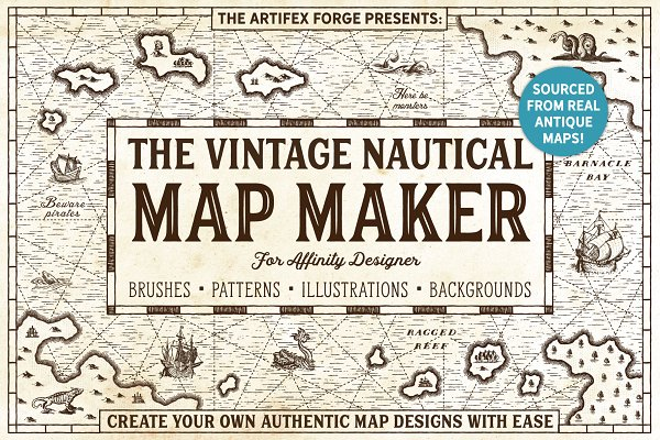 Download The Vintage Nautical Map Maker