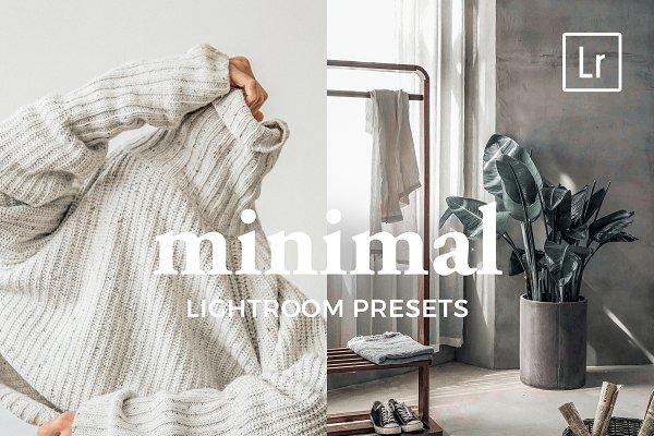 Download 4 Lightroom Presets MINIMAL