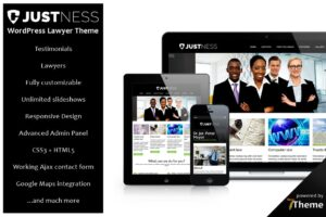 Download Justness - responsive Lawyer Theme
