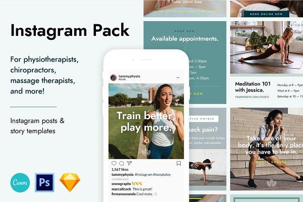 Download Healthcare Instagram Pack
