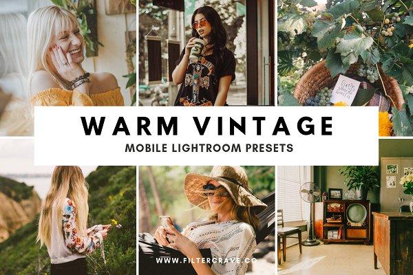 Download Warm Vintage Lightroom Presets IG