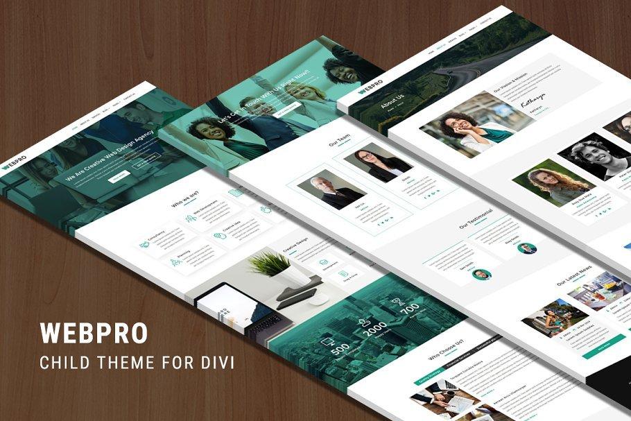 Download Webpro – Divi Child Theme