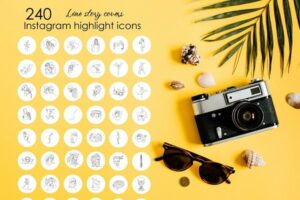Download 240 White Instagram Highlight Covers