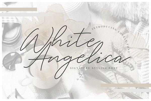 Download White Angelica Signature