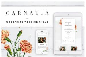 Download Carnatia WordPress Wedding Theme
