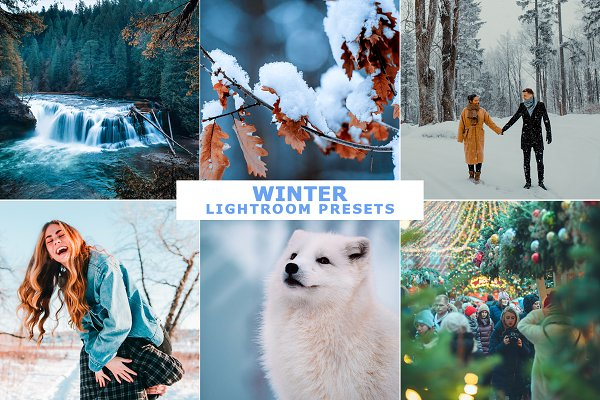 Download Winter Lightroom Presets