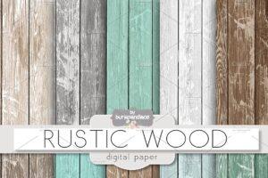 Download Rustic wood teal