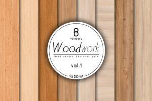 Download 8 wood veneer texture pack vol.1