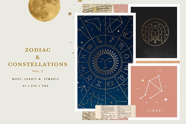 Download Zodiac and Constellation Collection